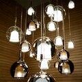 Скандинавские капли воды витражные светодиодные подвесные светильники дизайнерские подвесные лампы для гостиной бар вилла дома деко кухо...