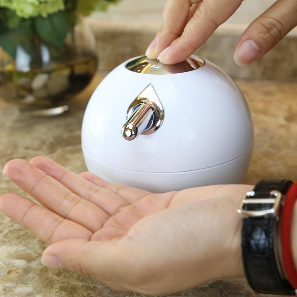 380ml Creative Spherical Soap Liquid Bottle Press Type Household Disinfection Dispenser Bathroom Supplies Soap Liquid Dispenser