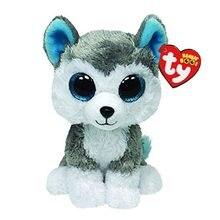 15cm ty recheado de pelúcia animais slush o husky brinquedo do cão grande beanie olho bonito macio brinquedos de pelúcia crianças brinquedo educativo presente