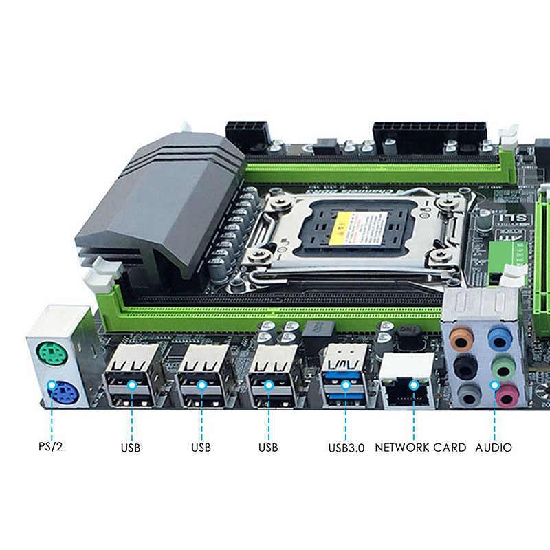 HOT-X79 материнская плата LGA2011 Combo с процессором E5 2620 4-Ch 16 Гб (4X4 Гб) DDR3 ram 1333 МГц NVME M.2 SSD слот