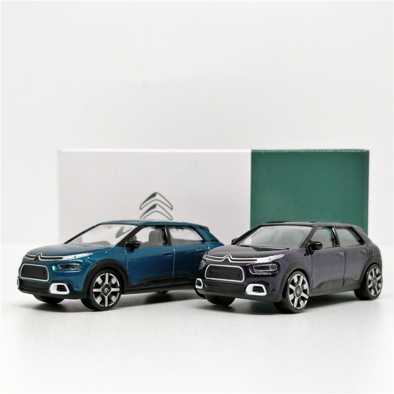 Norev 1:64 Citroen C4 Cactus 2017 Purple Diecast Model Car