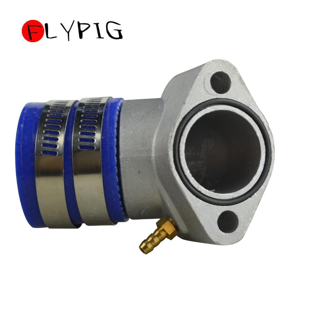 30mm de alumínio que compete a bota do coletor da entrada para gy6 125cc - 250cc 4 tempos qmj qmi 152/157 motores ciclomotor scooter atv e ir kart