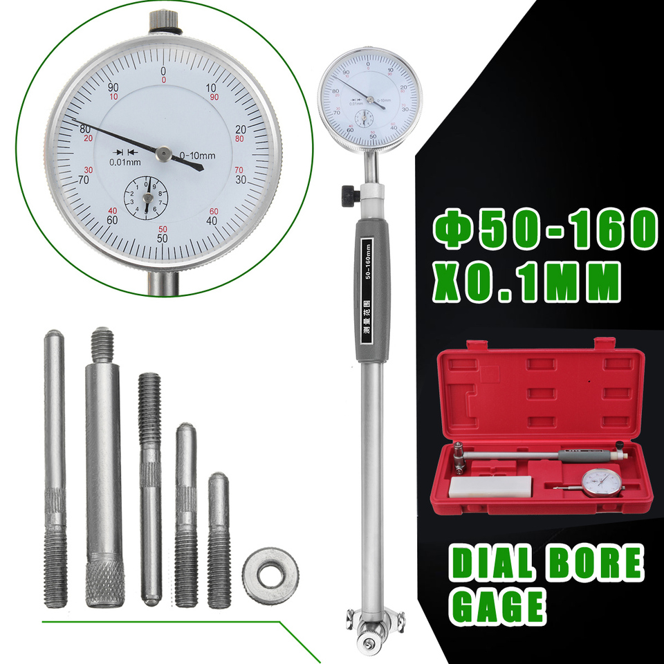 Metric Dial Bore Gauge 35-50mm Cylinder Internal Bore Machinery  Engine