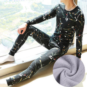 Set Thermal-Underwear-Sets Velvet Long-Johns Thicken Winter Plus for Russian-Canada And