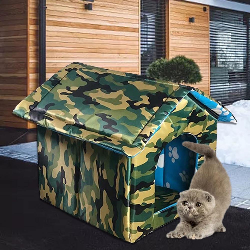 À prova dwaterproof água ao ar livre pet house engrossado gato ninho tenda cabine cama pet tenda gato canil portátil viagem ninho pet transportadora atacado