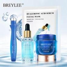 BREYLEE – masque Facial à l'acide hyaluronique, crème pour les yeux, sérum blanchissant, hydratant, Essence sèche et rugueuse, soins pour la peau, Anti-âge
