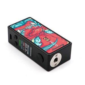 Image 4 - Vapelustion Hannya מיני 80W TC תיבת Vape Mod אחת 18650 סוללה עוקף 510 חוט מגניב עיצוב Ecigarette Mod