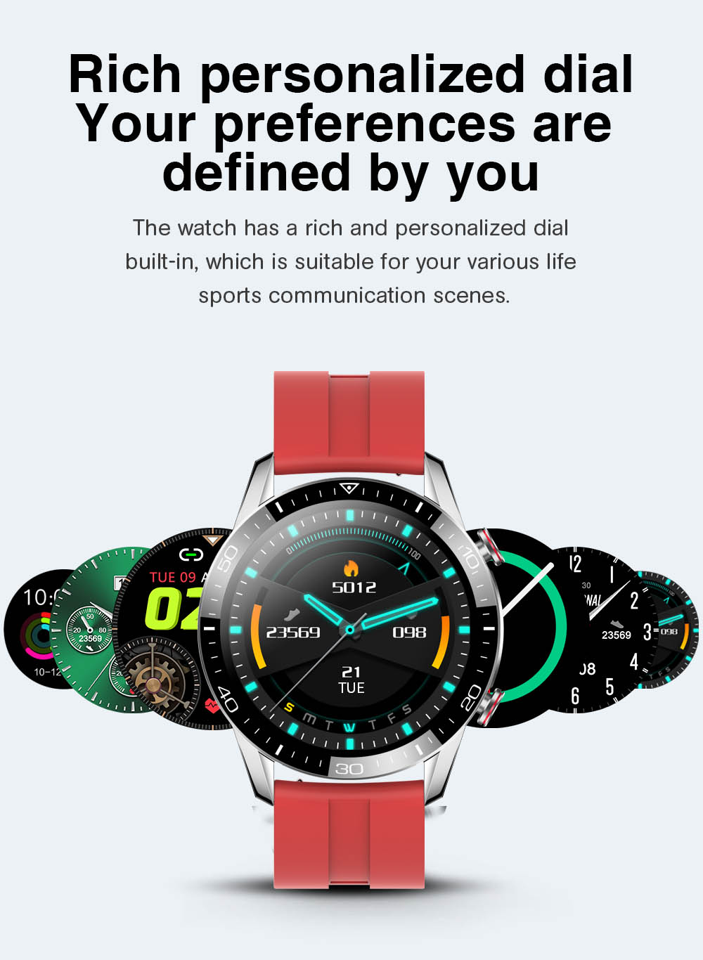 H94bd9a74389e4b358401b2bc9627f58a1 TK2-8 Smart Watch For Men Bluetooth Call IP68 Waterproof Blood Pressure Heart Rate Monitor New SmartWatch Sports Fitness Tracker