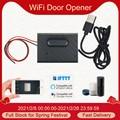 Интеллектуальный переключатель Wi-Fi для гаражных дверей Управление; Открывателя гаражных дверей eWeLink дистанционного Управление Совместимо...