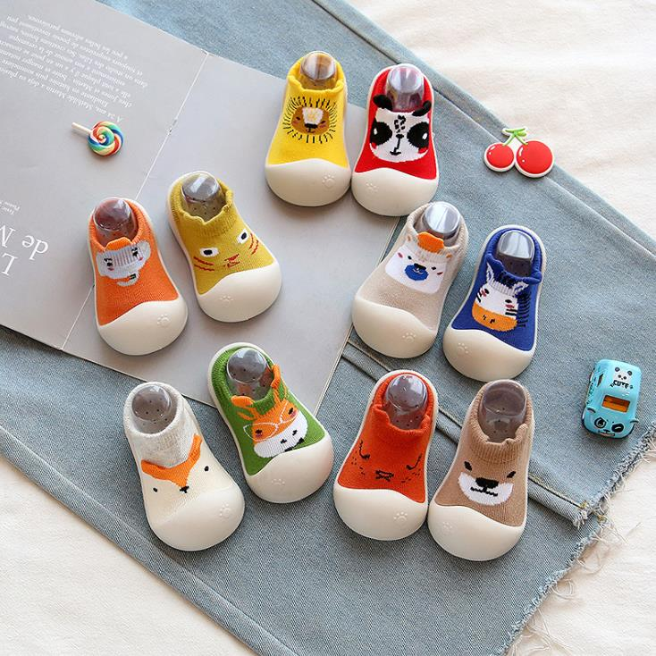 Baby Toddler Shoes Baby  Shoes Non-slip Animal Shoes Sock Floor Shoes Foot Socks 10kinds Zy02 TLB