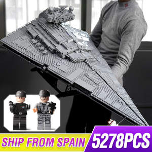Brick Building-Blocks Star-Toys Spaceship Legoing Imperial Series Wars-Ultimate-Collector