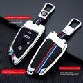 Новинка 2021, чехол для автомобильного ключа для BMW 2 3 5 7 серии 6GT X1 X3 X5 X6 F45 F46 G20 G30 G32 G11 G12 F48 G01 F15 F85 F16 F86, брелок для ключей