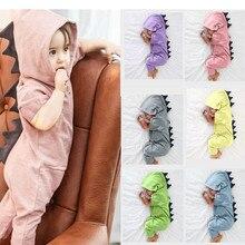 Outfits Onesie Newborn Baby Baby-Boy-Girl Jumpsuit Romper Dinosaur Bodysuits Hooded Infant