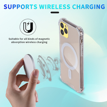 Mgnetic Case For iPhone 12 Magsafing Charger Protective Case For iPhone 12 Pro Max Mini Wireless Charger Transparent Thin Capa