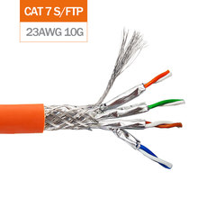 Network Lan Cable Gigabit Cat6 UTP FTP 10GBit Cat6A Cat7 SFTP Installation Cable Oxygen-free Copper Wires Indoor LSZH