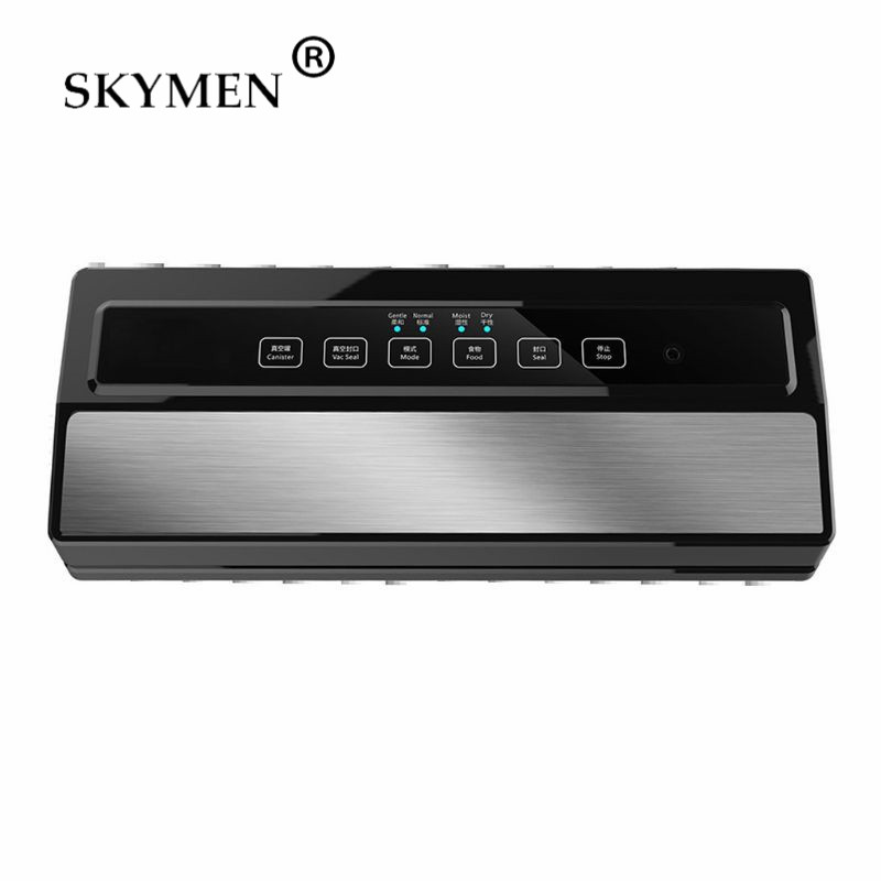Vacuum Sealer Machine Automatic Food Sealer Stainless Steel For Food Savers Led Indicator Lights