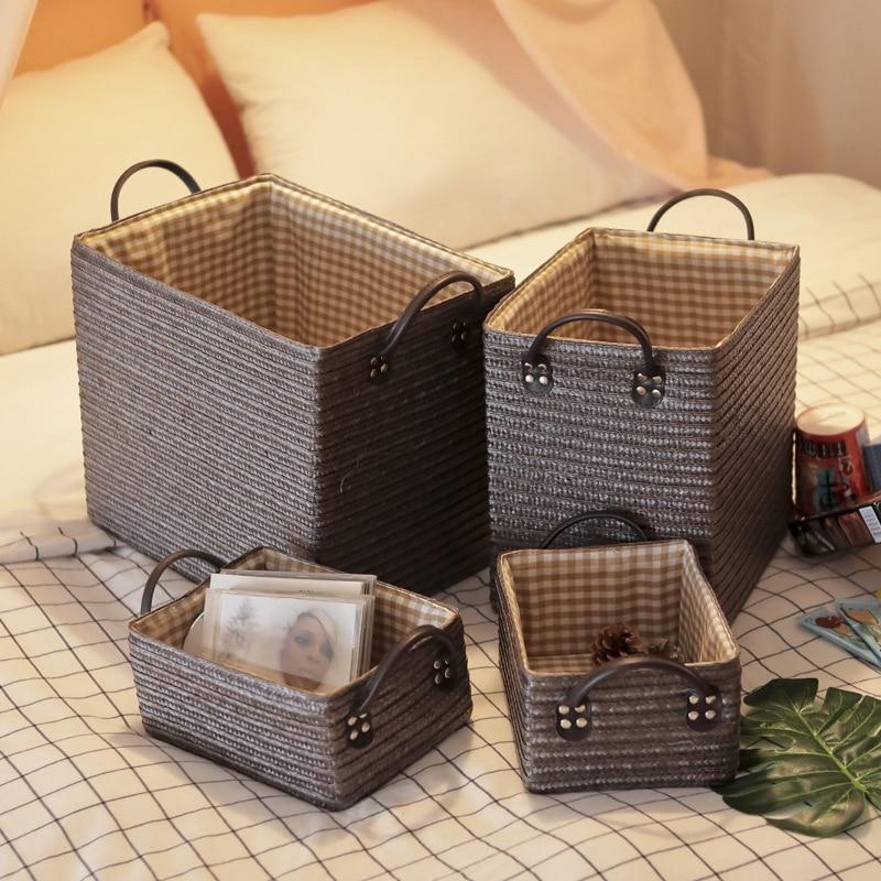 Handmade Woven Storage Basket Eco Friendly Home Baskets » Planet Green Eco-Friendly Shop