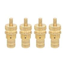 4 шт. 4WD универсальные латунные внедорожные автоматические шины дефляторы клапан набор 6-30 PSI Регулируемый bleeder набор