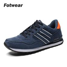 Men Lightweight walking sneakers casual shoes Barefoot-like feel Adult tennis Krasovki with Leather upper Sport Trainers