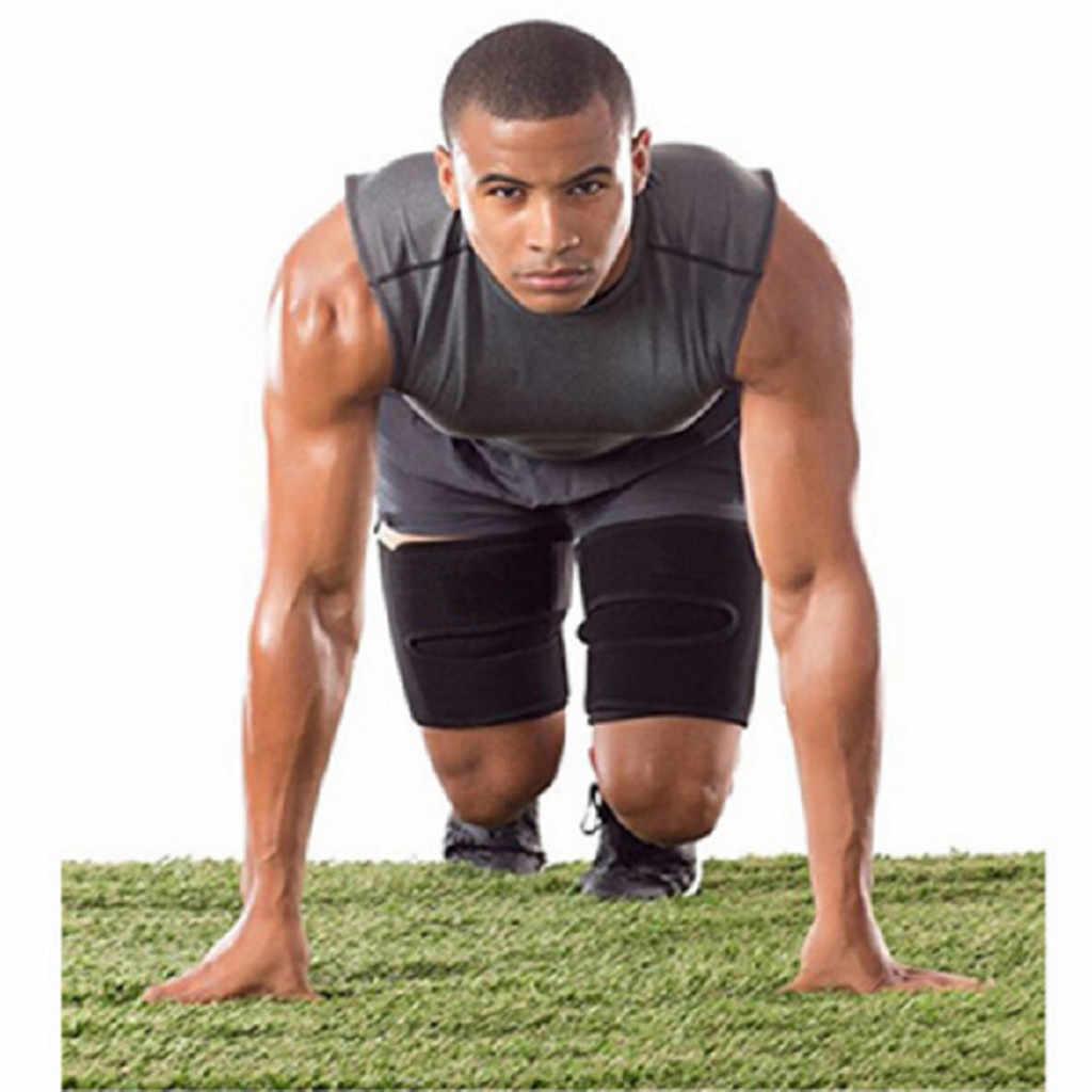 Формирователь ног сауна пот бедра триммеры калории анти целлюлит, снижение веса для похудения ног жира Термо неопрена компресса Пояс # Y4