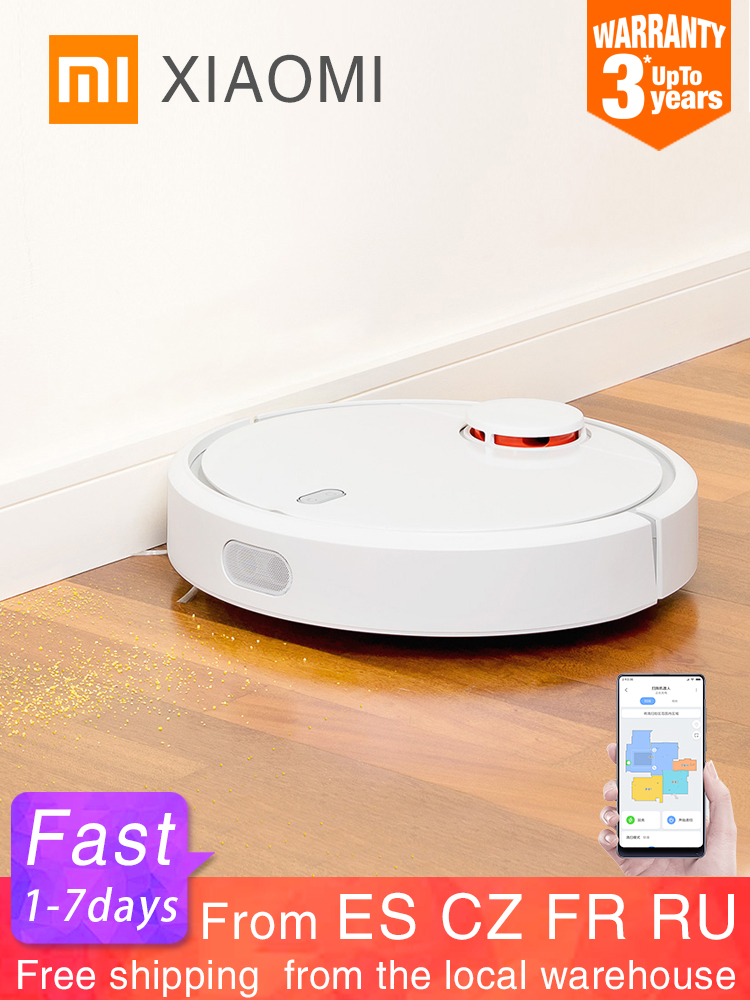 Robot-Vacuum-Cleaner Sweeping-Dust Planned WIFI MIJIA XIAOMI App Smart Automatic Home