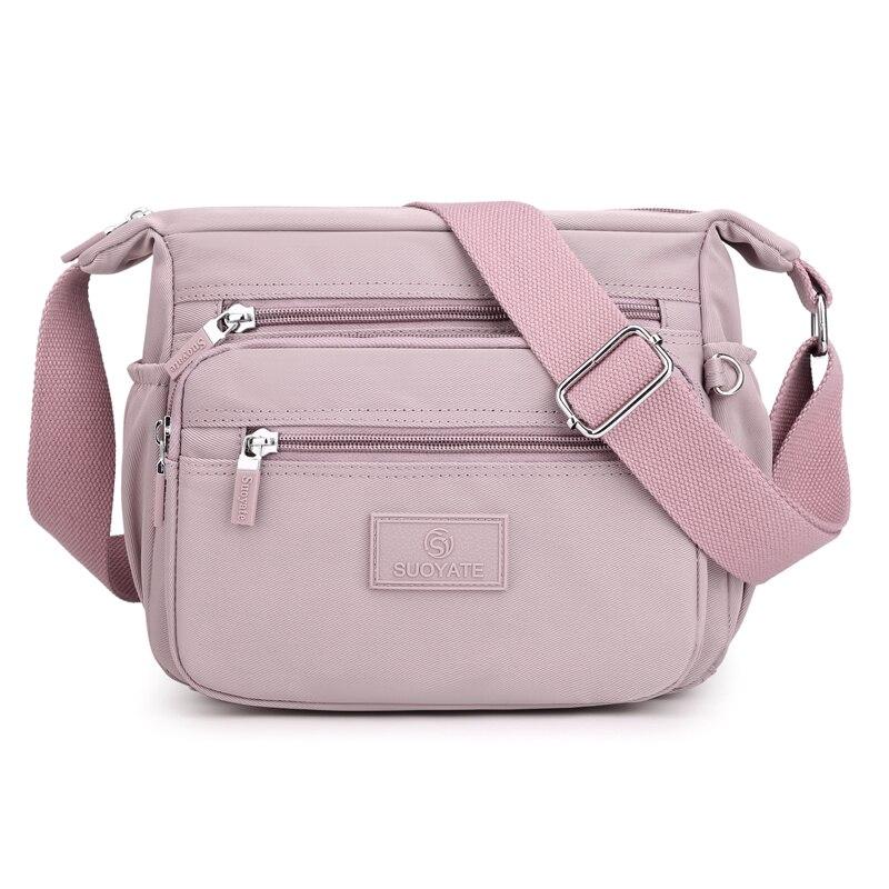 Hot High Quality Women's Shoulder bag Female CrossBody Bag Simple Travel Handbag Nylon waterproof Casual Ladies Messenger Bag