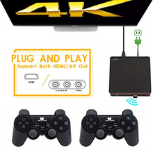 Retro Video Game Console With 2.4G Wireless Controller Built in 600 Hdmi Video Classic Games for GBA/SNES Family Tv Retro Game