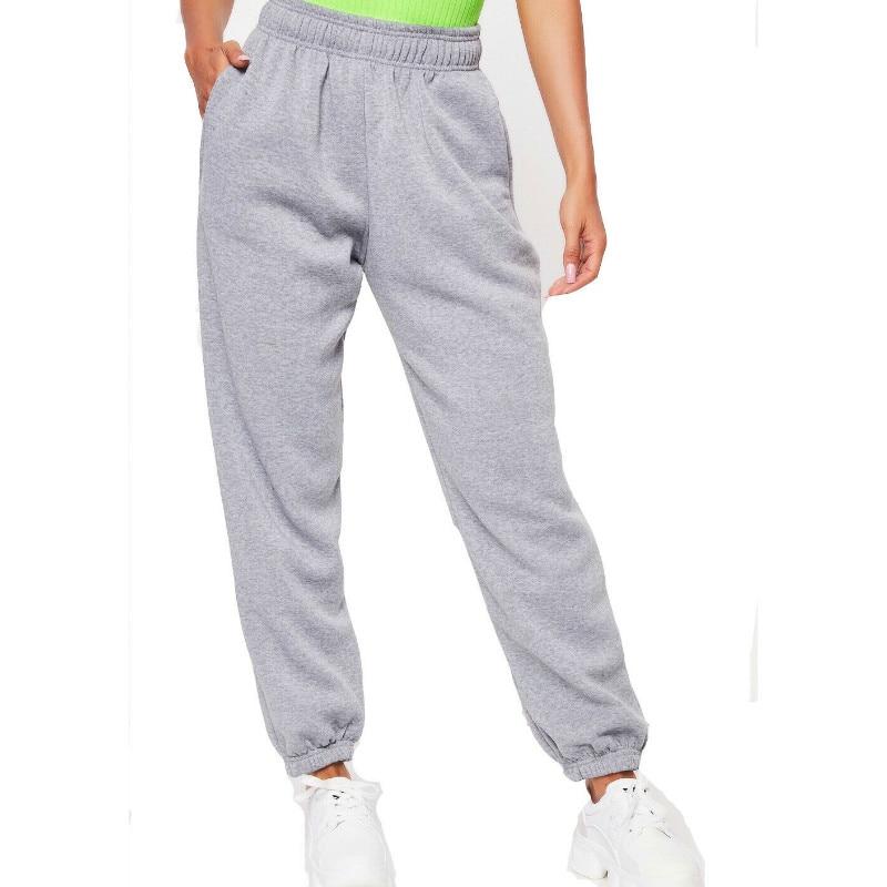 Women Casual Sweatpants Jogger Dance Harem Pants Fashion Casual Loose Street Style K-POP Trousers