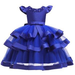 Image 5 - Yaz çocuk elbiseleri kız çocuklar için nakış dantel prenses elbise kız 2 3 4 5 6 7 8 9 10 yıl doğum günü partisi elbisesi