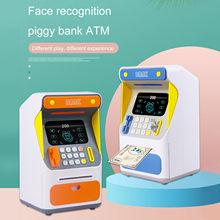 Banco de ahorro de dinero Personal para niños, caja de ahorro de dinero en efectivo, caja fuerte, grande, para monedas, porcino, original