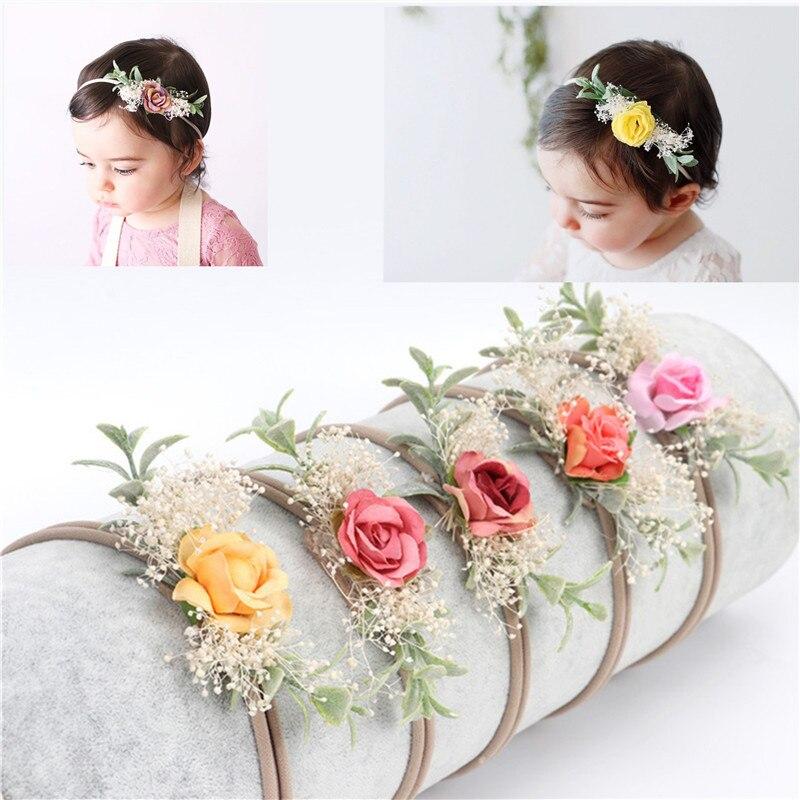 Baby Newborn Toddler Girl Headband Bows Flower Knot Headband Hair Accessories