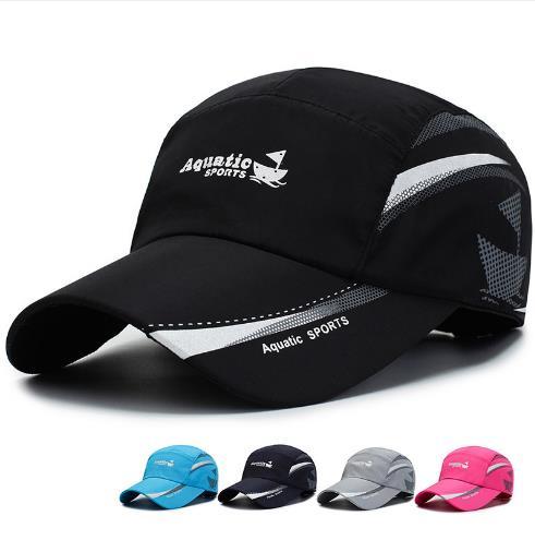 2020 Aquatic Sport Three-dimensional Embroidery Dad Hat Men Women Summer Baseball Cap Visor Caps Adjustable Bone Gorras Hombre