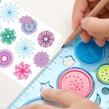 Drawing-Toys Art-Tool Spirograph Creative Painting Interlocking Wheels Gears