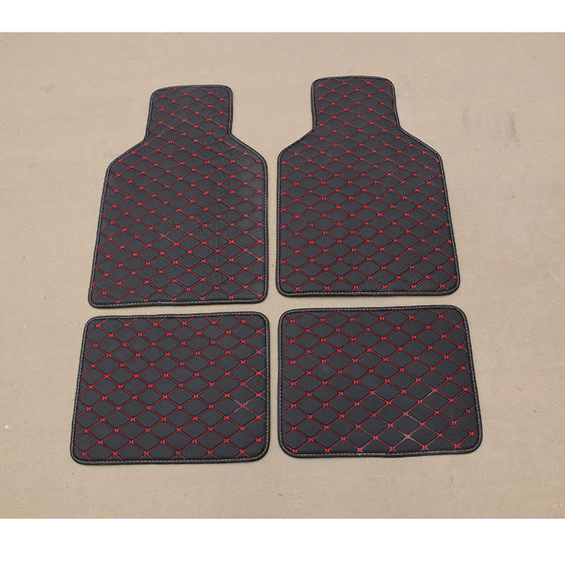 WLMWL Car universal foot pad For Infiniti all models FX EX JX G M QX50 QX56 QX80 Q70L QX50 QX60 Q50 Q60 ESQ floor mats lancer x