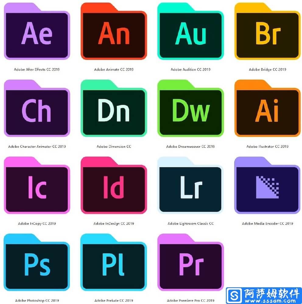 Adobe CC 2019 for Mac v9.10.10 嬴政天下全家桶大师版