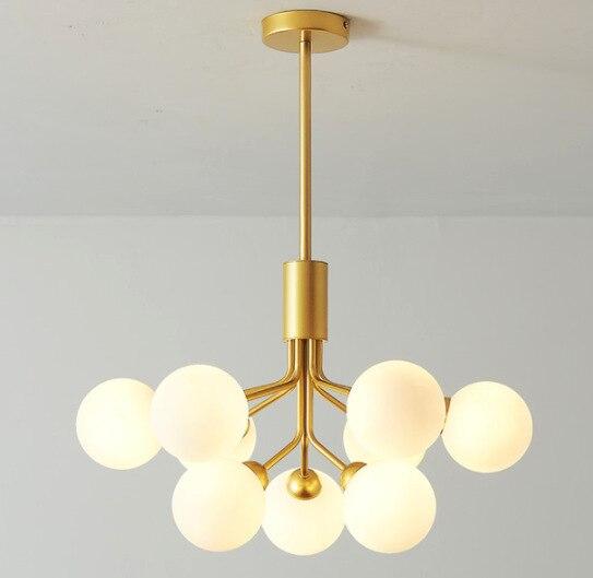 Nordic Deco Maison  Hanging Ceiling Lamps Glass  Living Room   LED  Pendant Lights Luminaria Pendente Hanglamp