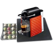 Металлическая полка для капсул nespresso 24 шт зеркальная кофемашина