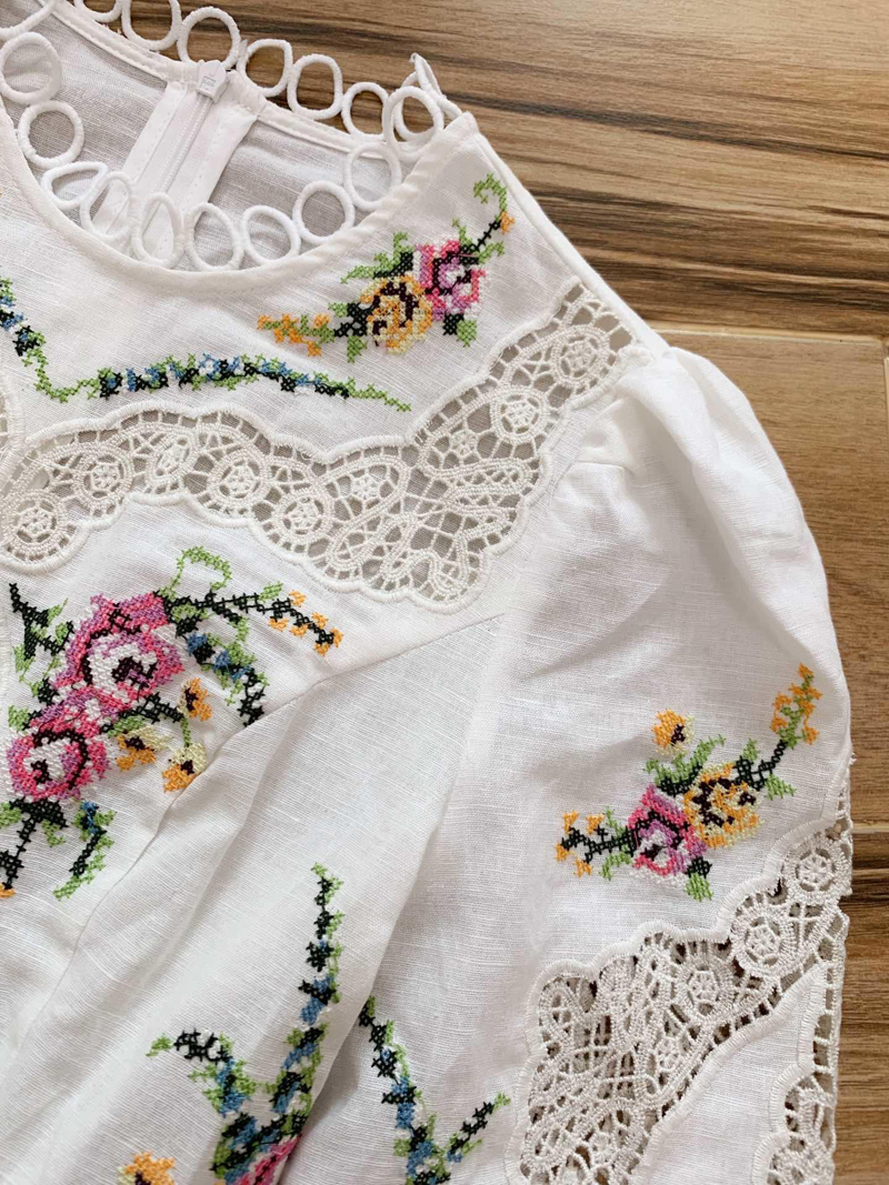 Party Embroidery Luxury Dress 6