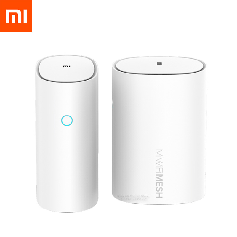 Xiao mi routeur maille WiFi 2.4 + 5GHz WiFi routeur haute vitesse 4 cœurs CPU 256 mo Gigabit puissance 4 amplificateurs de Signal pour la maison intelligente
