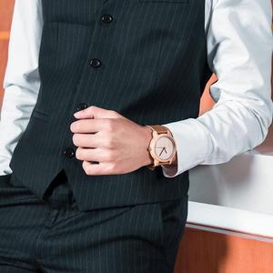 Image 5 - BOBO BIRD Bamboo Wooden Watches Men Japan Quartz Watch For Male Engrave Pointer Logo Laser Customized Dropshipping