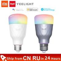 Xiaomi-bombilla LED inteligente Yeelight 1S, lámpara colorida E27 1SE, interruptor de atenuación inteligente, opción RGB/blanca para Mi Home, gran oferta