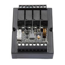 PlcプログラマブルコントローラボードとFX1N 10MRプログラマブルリレー遅延モジュールシェルツールプログラマブルロジックコントローラ