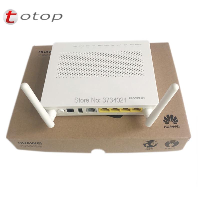 Free Shipping New Huawei Gpon Onu Hg8546m 1GE+3FE+Voice+WIFI+USB English Firmware Huawei Echolife Hg8546m Gpon Terminal Ont