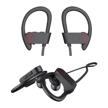 Bluetooth V5.0 Wireless Sports Earphones IPX5 Waterproof HD Stereo Sweatproof Earbuds Gym Running Workout Noise Cancelling august ep725 wireless sweatproof sports earphones for gym running active noise cancelling bluetooth headphones headsets with mic
