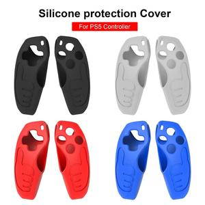 Silicone Gamepad Protective Cover Joystick Case For Sony Playstation 5 PS5 Game Controller Skin Guard Game Accessories