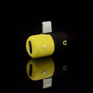 Image 5 - באיכות גבוהה עבור iPhone 7 ברקים כדי 3.5mm 2in1 אודיו כבל שקע אוזניות אוזניות מתאם