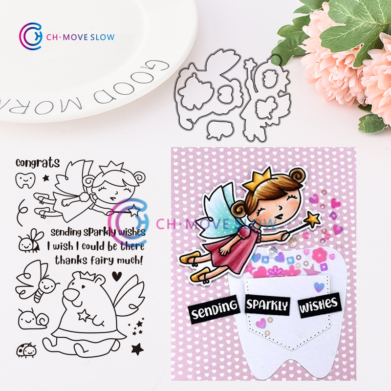 New Girl Photograph Metal Cutting Dies Stamps Stencil for DIY Scrapbooking Photo Album Embossing Decorative Craft Die 3652