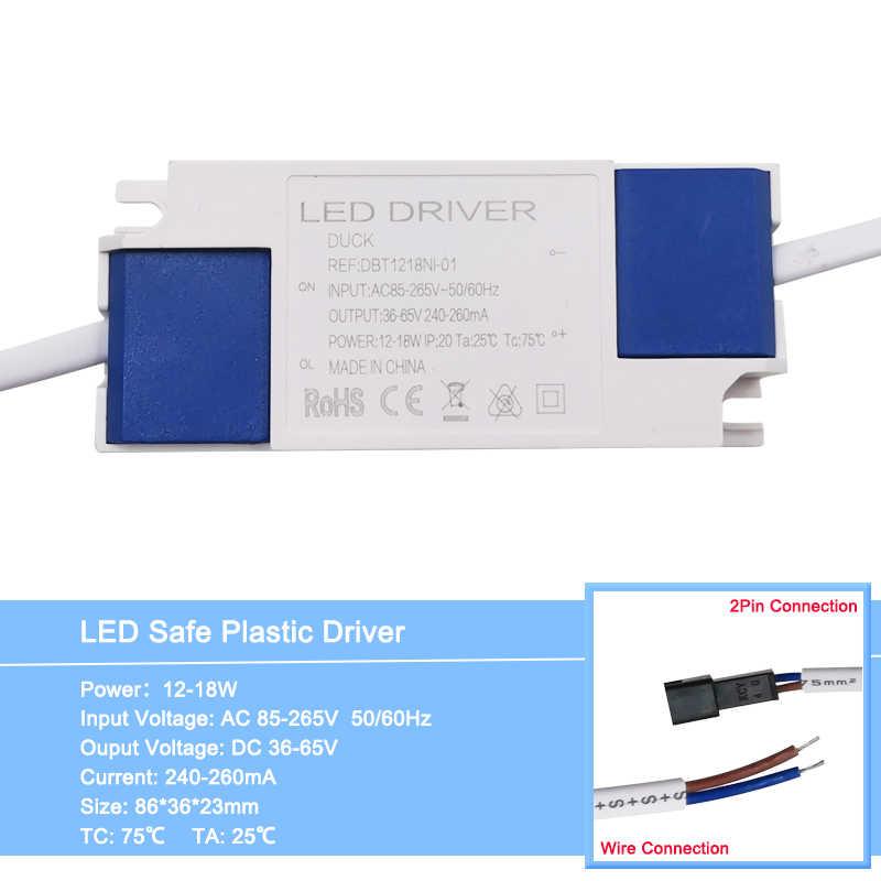 1 adet 1-36W LED sürücü giriş AC 85-265V aydınlatma trafo sabit akım güç kaynağı adaptörü led lambalar/spot