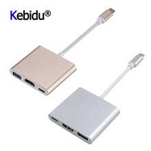 Type C-HDMI-совместимый USB 3,0 адаптер для зарядки конвертер концентратор адаптер для Mac Air Pro Huawei Mate10 Samsung S8 Plus