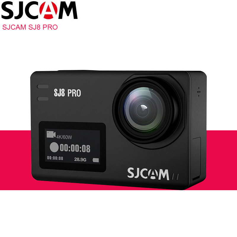 Original SJCAM SJ8 PRO Action Camera 4K WiFi Ambarella H2 4K 60FPS 30m Waterproof SJ Outdoor